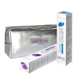 """Aravia Professional - Набор для рук и ног """"Интенсивное восстановление"""" (в косметичке)"""