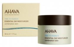 Ahava Time To Hydrate Essential Day Moisturizer - Базовый увлажняющий дневной крем для комбинир.кожи, 50 мл