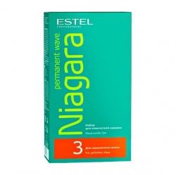 Estel Niagara - Набор для химической завивки для окрашенных волос №3