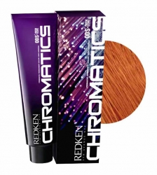 Redken Chromatics - Краска для волос без аммиака 7.46/7Cr медный 60мл