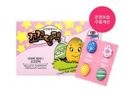Milatte Fashiony Egg Peel-Off Cream Pack - Крем-маска для лица набор, 4 шт
