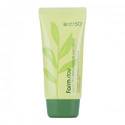 FarmStay Green Tea Seed Moisture Sun Cream SPF 50/PA+++ - Крем солнцезащитный увлажняющий с семенами зеленого чая, 70 гр