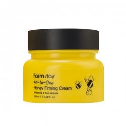 FarmStay All-In-One Honey Firming Cream -  Крем для лица укрепляющий с экстрактом мёда, 100 мл