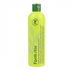 FarmStay  Green Tea Seed Moisture Emulsion - Эмульсия увлажняющая с семенами зеленого чая, 300 мл