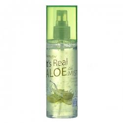 FarmStay It's Real Aloe Gel Mist - Гель-спрей для лица с экстрактом алое, 120 мл
