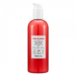 FarmStay Pink Flower Daily Perfume Body Lotion - Лосьон парфюмированный для тела с экстрактом розовых цветов, 330 мл
