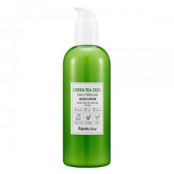 FarmStay Green Tea Seed Daily Perfume Body Lotion - Лосьон парфюмированный для тела с экстрактом зеленого чая, 330 мл