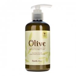 FarmStay Olive Moisture Balancing Body Lotion  - Лосьон увлажняющий для тела с экстрактом оливы, 250 мл