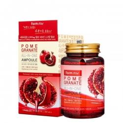 FarmStay Pomegranate All-In-One Ampoule - Сыворотка ампульная многофункциональная с экстрактом граната, 250 мл