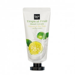 FarmStay Tropical Fruit Hand Cream Calamansi & Shea Butter - Крем для рук с экстратом каламанси и маслом ши, 50 мл
