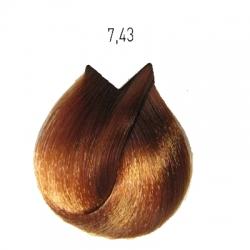 L'Oreal Professionnel Majirel - Краска для волос 7.43 (блондин медно-золотистый), 50 мл