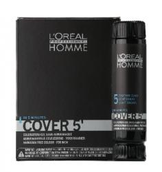 L'Oreal Professionnel Homme / Мужская Линия - Тонирующий гель 5 №3 темный шатен, 3*50 мл