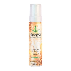Hempz Fresh Fusion Citrine Crystal & Quartz Herbal Foaming Body Wash - Гель-мусс для душа Желтый Кварц 250мл