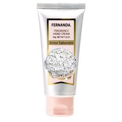 Fernanda Amor Sabonete Hand Cream - Крем для рук, Парфюмированный, 50 г