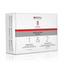 Indola Kera Bond Trial Kit - Стартовый Набор Кера Бонд, 100+100+100 мл