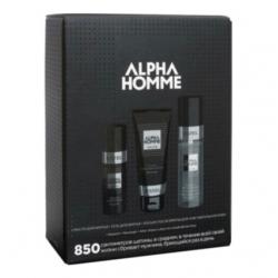 Estel Alpha Homme - Набор для бритья 850 (масло для бритья, гель для бритья, лосьон после бритья)
