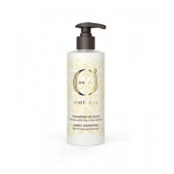 Barex Olioseta  Oro Di Luce Shine Shampoo - Шампунь-блеск с протеинами шелка и семенем льна 250 мл