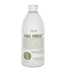 Ollin Full Force Bamboo Extract - Очищающий шампунь для волос и кожи головы с экстрактом бамбука, 300мл