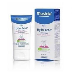 Mustela Bebe - Гидра крем для лица увлажняющий, 40 мл