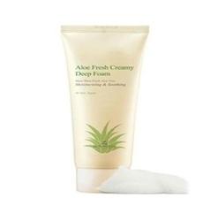 The Skin House Aloe Fresh Creamy Deep Foam - Кремовая пенка для умывания с экстрактом алое, 120  мл