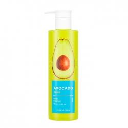 Holika Holika Avocado Body Cleanser - Гель для душа Увлажняющий с экстрактом масла авокадо, 390 мл