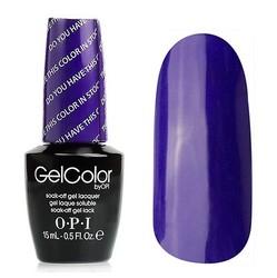 Opi GelColor Color in Stock-holm, - Гель-лак для ногтей, 15мл