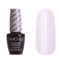 Opi GelColor Chiffon My Mind, - Гель-лак для ногтей, 15мл