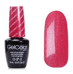 Opi GelColor Go with the Lava Flow, - Гель-лак для ногтей, 15мл