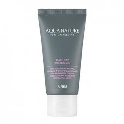 A'Pieu Aqua Nature Blackhead Melting Gel - Мягкий тающий гель от чёрных точек, 50 мл