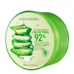 Nature Republic Soothing & Moisture Aloe Vera 92% Soothing Gel - Гель с алоэ 300мл