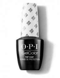 OPI GelColor Top Coat - Верхнее покрытие, 15 мл