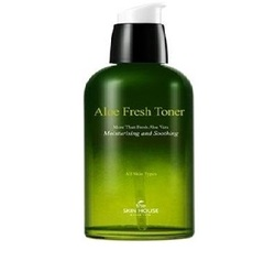 The Skin House Aloe Fresh Toner - Успокаивающий тонер с экстрактом алое , 130 мл
