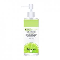 Secret Skin Lime Fizzy Cleansing Oil - Масло гидрофильное с экстрактом лайма, 120мл