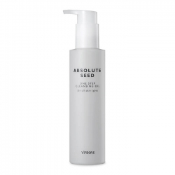 Vprove Absolute Seed One Step Cleansing Oil - Гидрофильное масло для снятия водостойкого и плотного макияжа, 155 мл