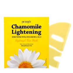 Petitfee Chamomile Lightening Hydrogel Face Mask - Гидрогелевая маска для лица экстрактом ромашки, 32 мл