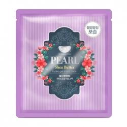 Koelf Pearl & Shea Butter Hydrogel Mask Pack - Гидрогелевая маска с маслом ши и жемчужной пудрой