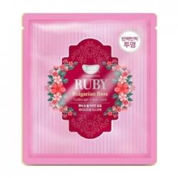 Koelf Ruby & Bulgarian Rose Hydrogel Mask Pack - Гидрогелевая маска с экстрактом болгарской розы