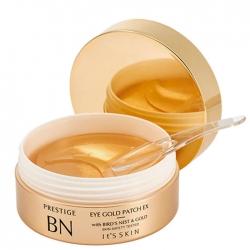 It's Skin Prestige BN Gold Eye Patch EX - Гидрогелевые патчи с золотом для кожи вокруг глаз 50 шт