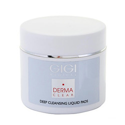 GIGI Cosmetic Labs Derma Clear Deep Cleansing Liquied Pad - Очищающие ватные диски 100