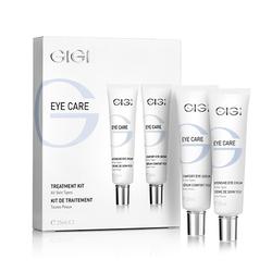 GIGI Cosmetic Labs Eye Care Complex Treatment Set - Набор (22006 Крем интенсивный для век и губ + 22008 Сыворотка для век) 50 мл