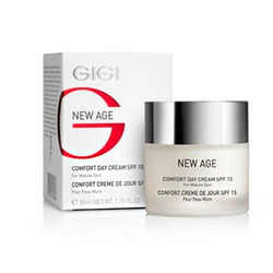 GIGI Cosmetic Labs New Age Comfort Day Cream SPF15 - Крем-комфорт дневной 50 мл
