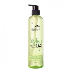 Flor de Man with Flowers Hair Care System Essential Hair Glaze - Глазурь для волос для бережного ухода, 500 мл