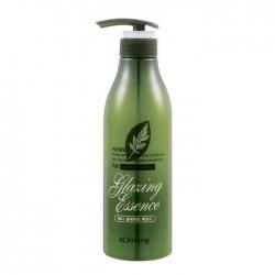 Flor de Man with Flowers Henna Hair Glazing Essence - Глазурь для волос, 500 мл