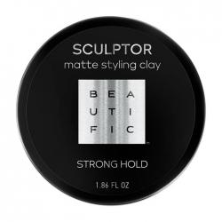 Beautific Sculptor Matte Styling Clay - Глина для укладки волос для мужчин, 55 мл