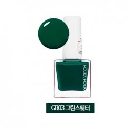 Holika Holika Piece Matching Nails - Lacquer - Лак для ногтей тон GR03, зеленый свитер, 10 мл