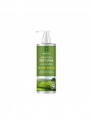 Deoproce Greentea Henna Pure Refresh Hair Pack - Маска для волос с зеленым чаем и хной, 1000мл