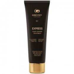 Greymy Platinum Express Hair Keratin Treatment - Экспресс кератиновый крем для разглаживания, 100 мл