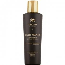 Greymy Hair Keratin Treatment Cream Gold - Восстанавливающий крем для волос 500 мл
