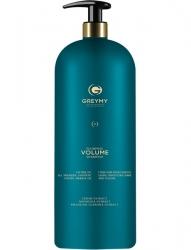 Greymy Plumping Volume Shampoo - Уплотняющий шампунь для объема, 1000 мл