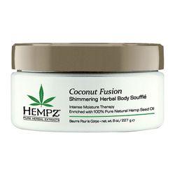 Hempz Herbal Body Souffle Coconut Fusion - Суфле для тела с кокосом 227 гр